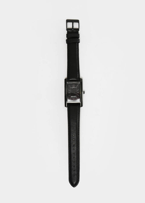 Black and Black Classic Watch