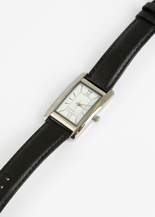 Berg + Betts Black and Silver Classic Watch — New Classics Studios