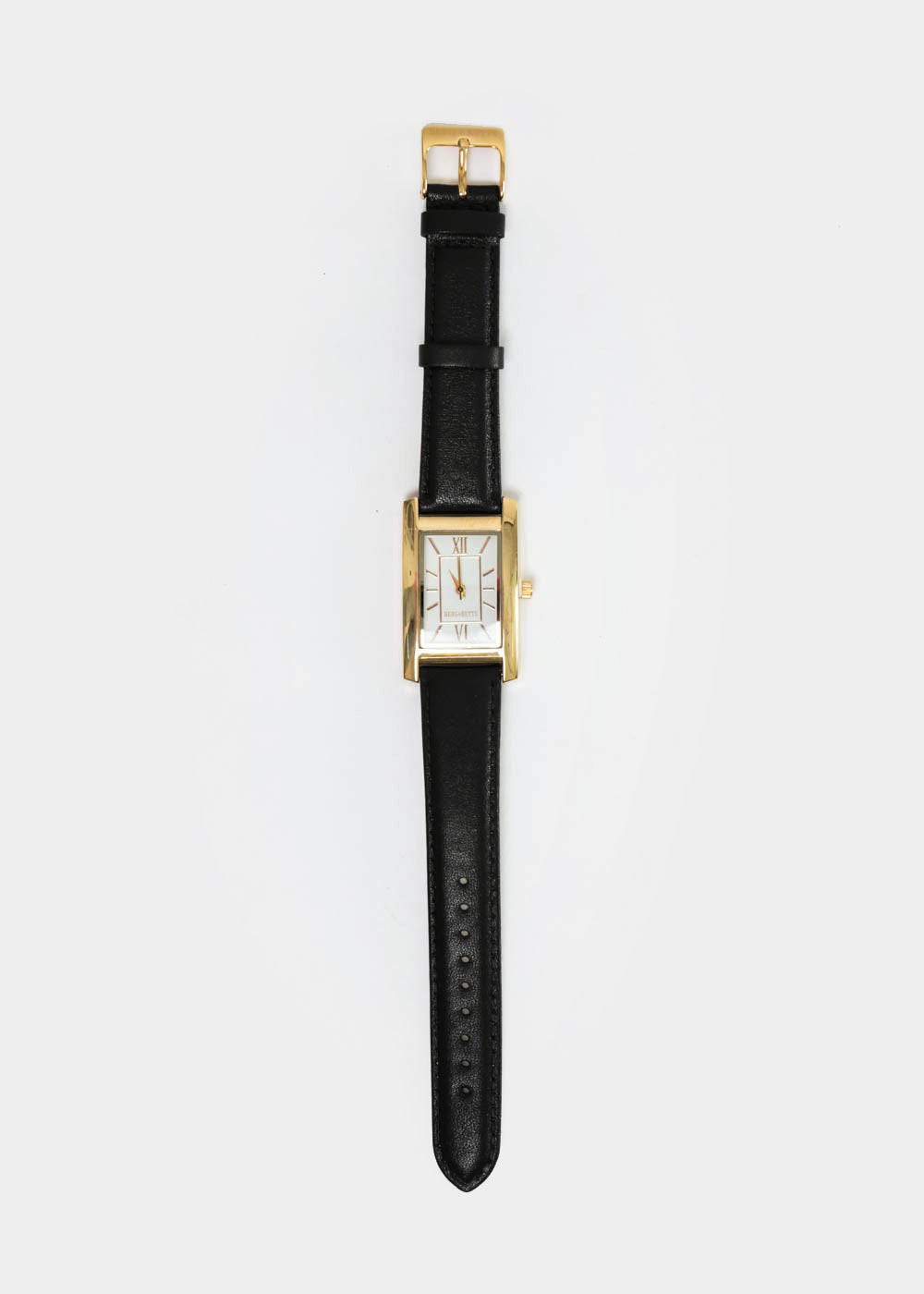 Gold and Black Classic Watch