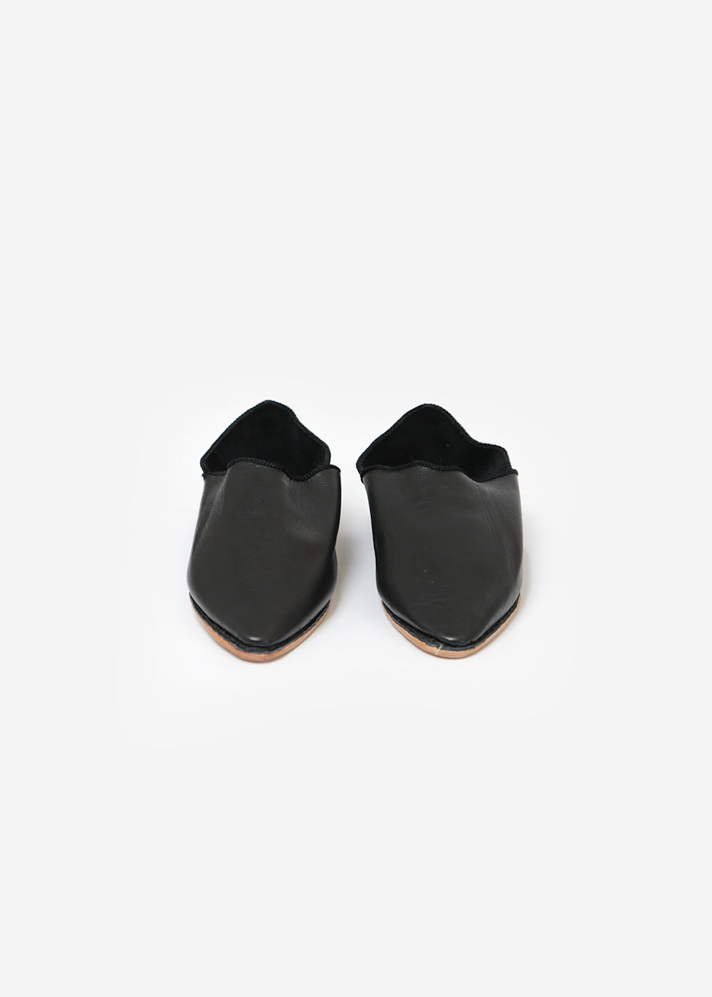 Black Massa Leather Glove Shoe - New Classics Studios