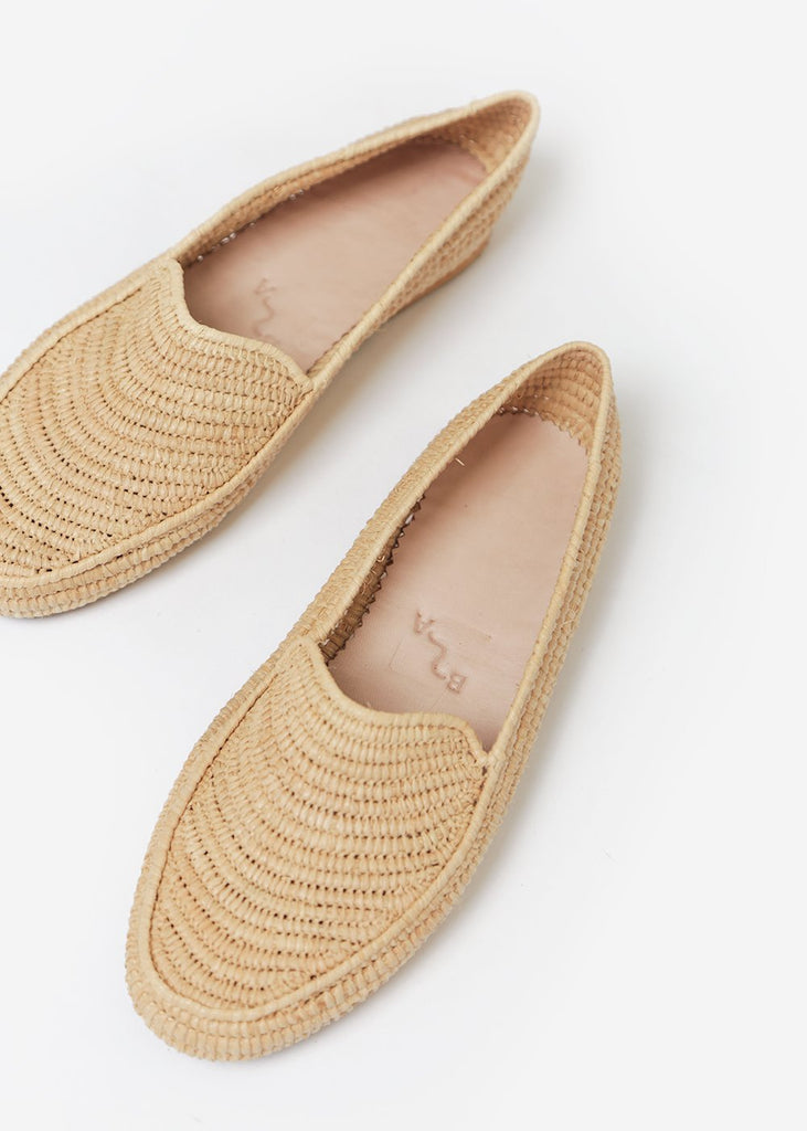 Bronze Age Straw Suda Loafer — Shop sustainable fashion and slow fashion at New Classics Studios