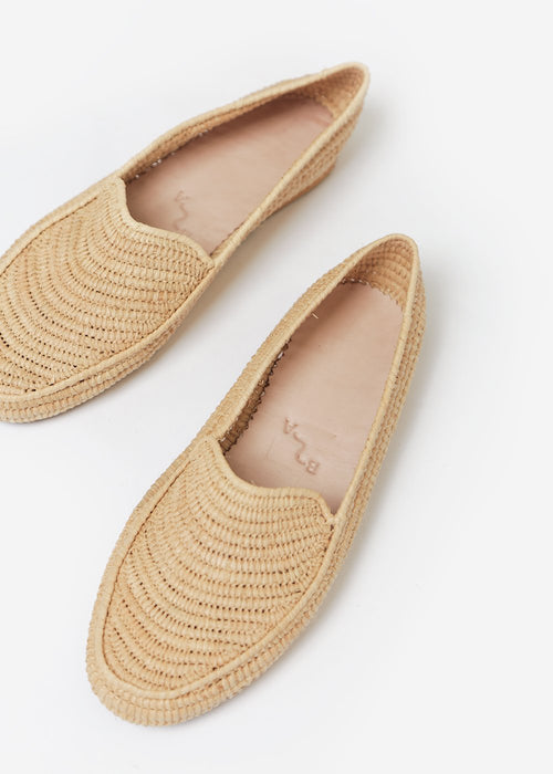 Bronze Age Straw Suda Loafer — New Classics Studios