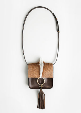 Brown Springbok Palma Bag