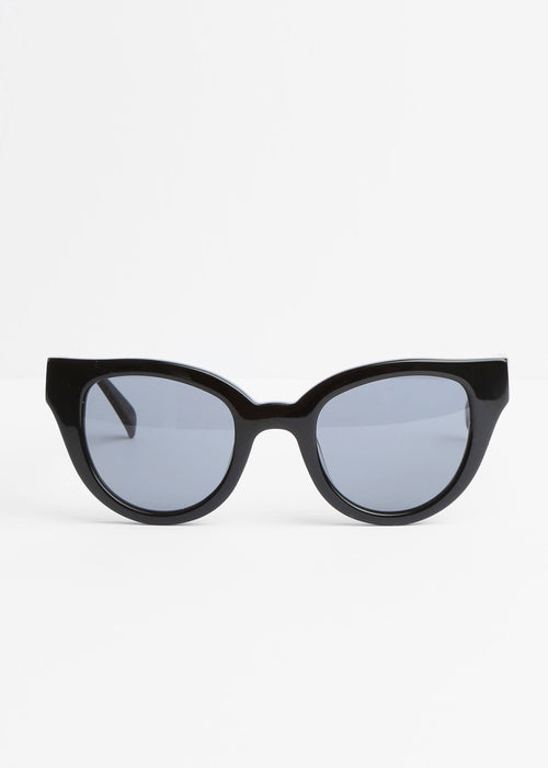 Carla Colour Barton Sunglasses in Midnight+Haze — New Classics Studios