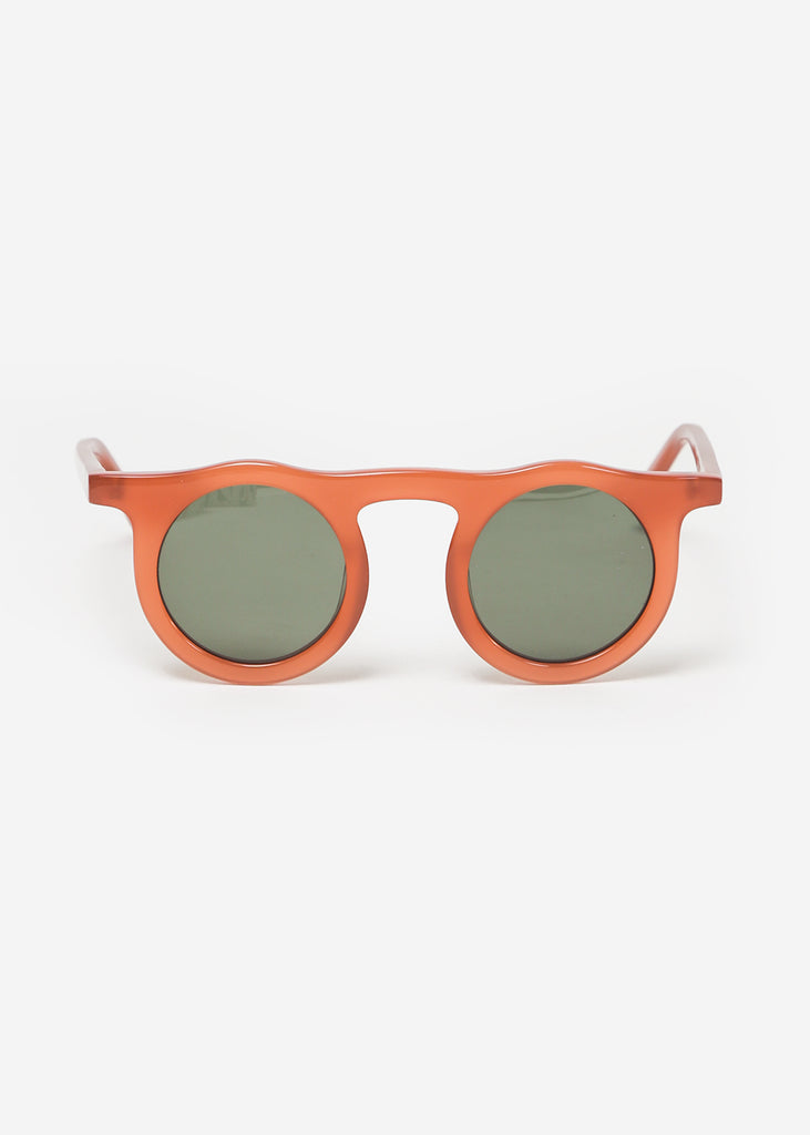 Carla Colour Lind Sunglasses in Cardinal + Hunter — New Classics Studios