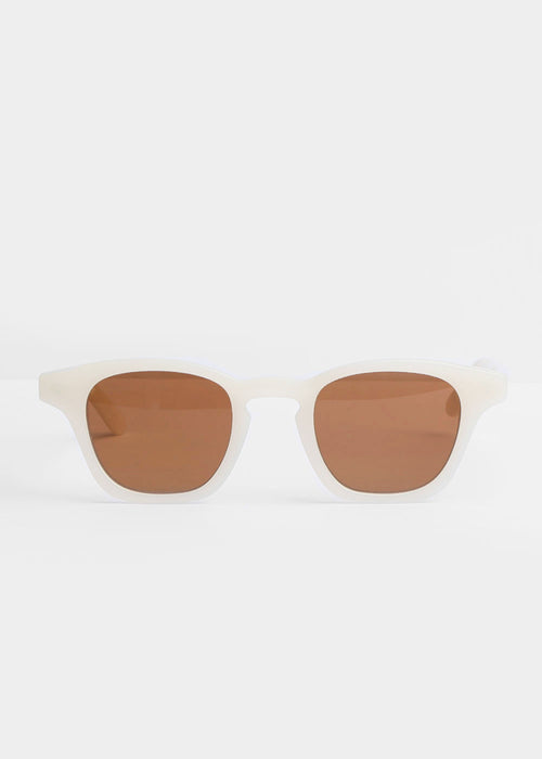 Carla Colour Gaka Sunglasses in Cloud+Sandstorm — New Classics Studios