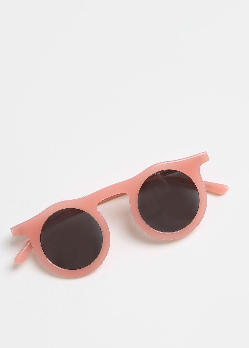 Carla Colour Lind Sunglasses in Flesh+Haze — New Classics Studios