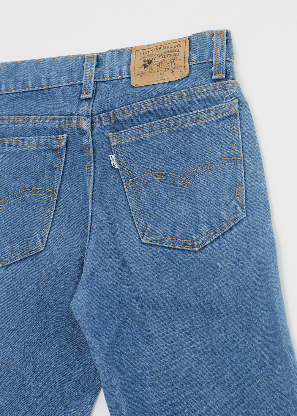 Denim Refinery Vintage Levi's Student Jeans — Shop sustainable fashion and slow fashion at New Classics Studios
