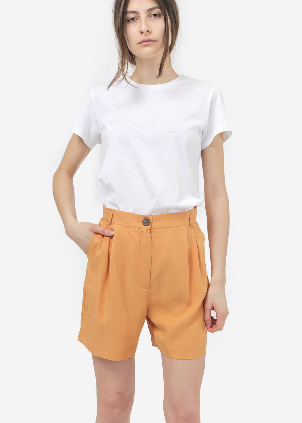 Diarte Moma Shorts — Shop sustainable fashion and slow fashion at New Classics Studios