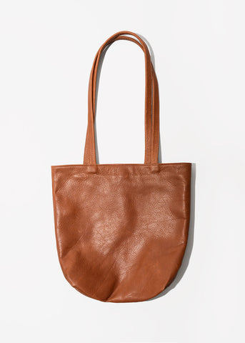BYOB Square Tote Bag in Caramel