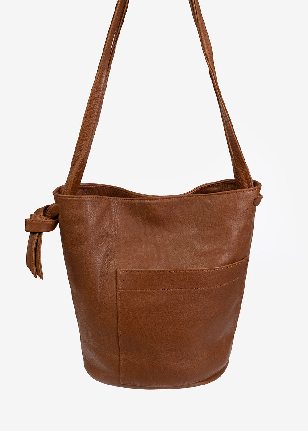 Erin Templeton Caramel Crossbody Bucket Bag — Shop sustainable fashion and slow fashion at New Classics Studios