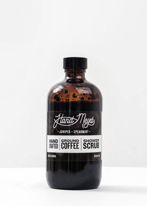 Hand-Meyd Ground Coffee Shower Scrub — New Classics Studios
