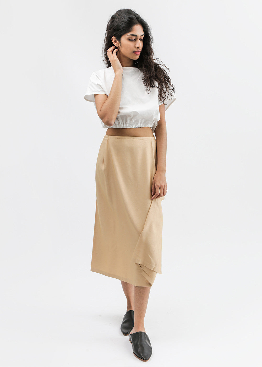 Kaarem Patches Midi Skirt — Shop sustainable fashion and slow fashion at New Classics Studios