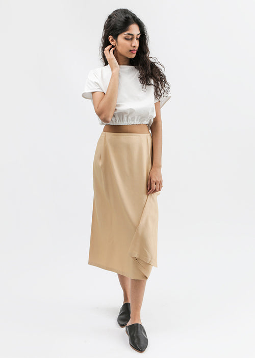 Patches Midi Skirt