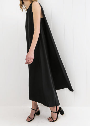 Turn Sleeveless Maxi Dress