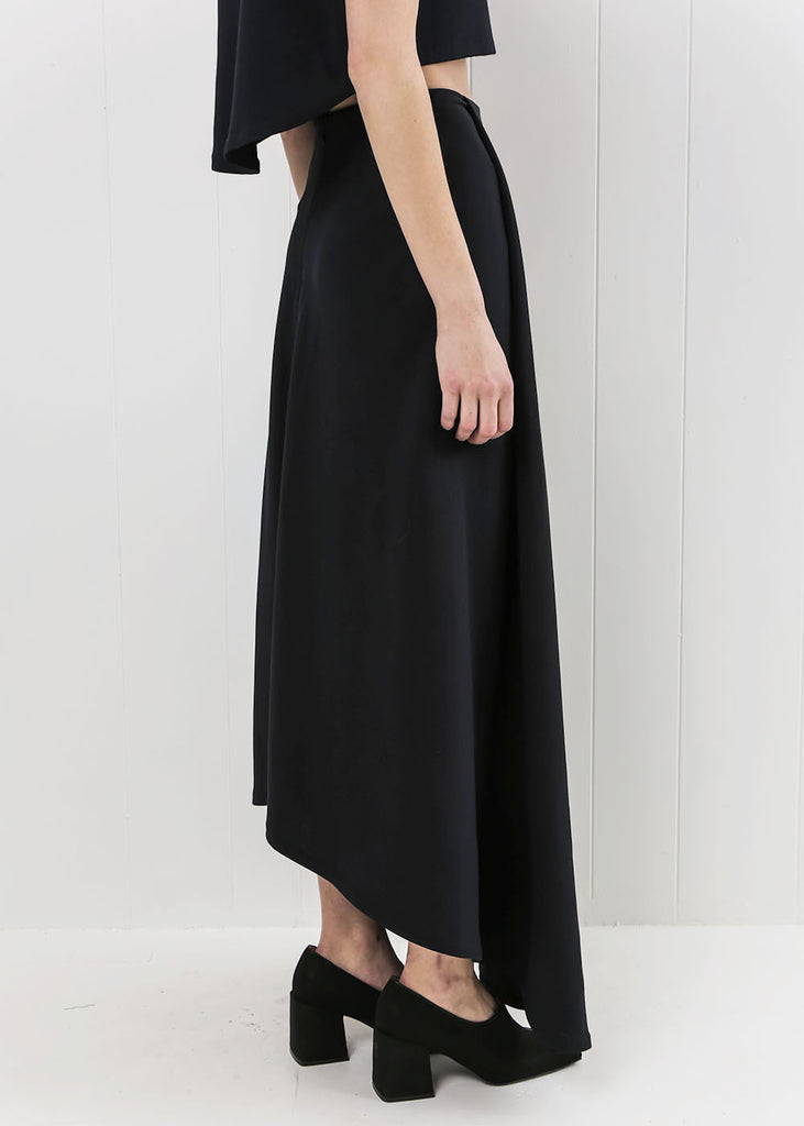 Kaarem Waterfall Maxi Skirt — Shop sustainable fashion and slow fashion at New Classics Studios