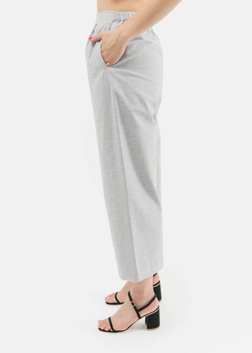 Kaarem Gripeweed Cropped Pant — Shop sustainable fashion and slow fashion at New Classics Studios