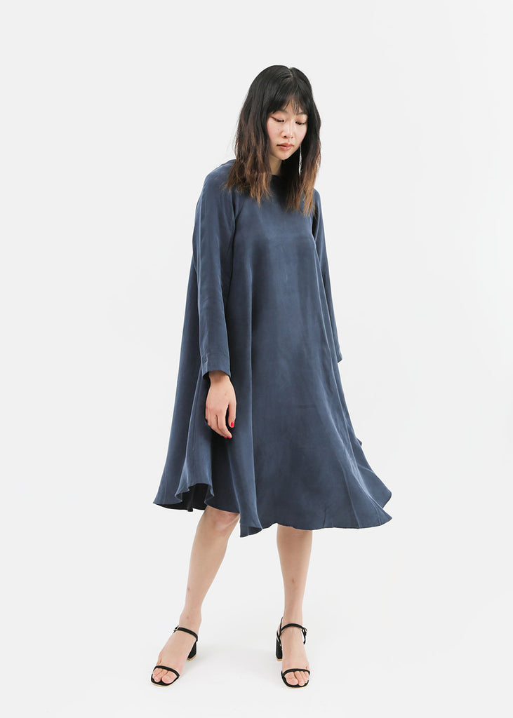 Kaarem Sapa Leaf Tent Dress — Shop sustainable fashion and slow fashion at New Classics Studios