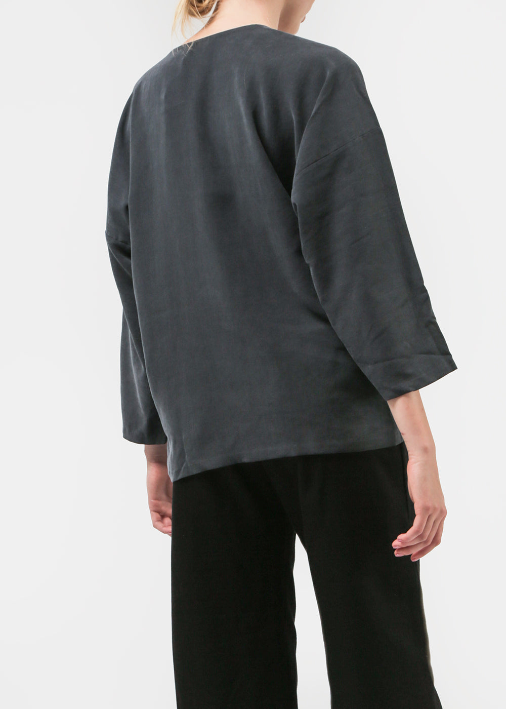 Kaarem Tru Boatneck Top — Shop sustainable fashion and slow fashion at New Classics Studios