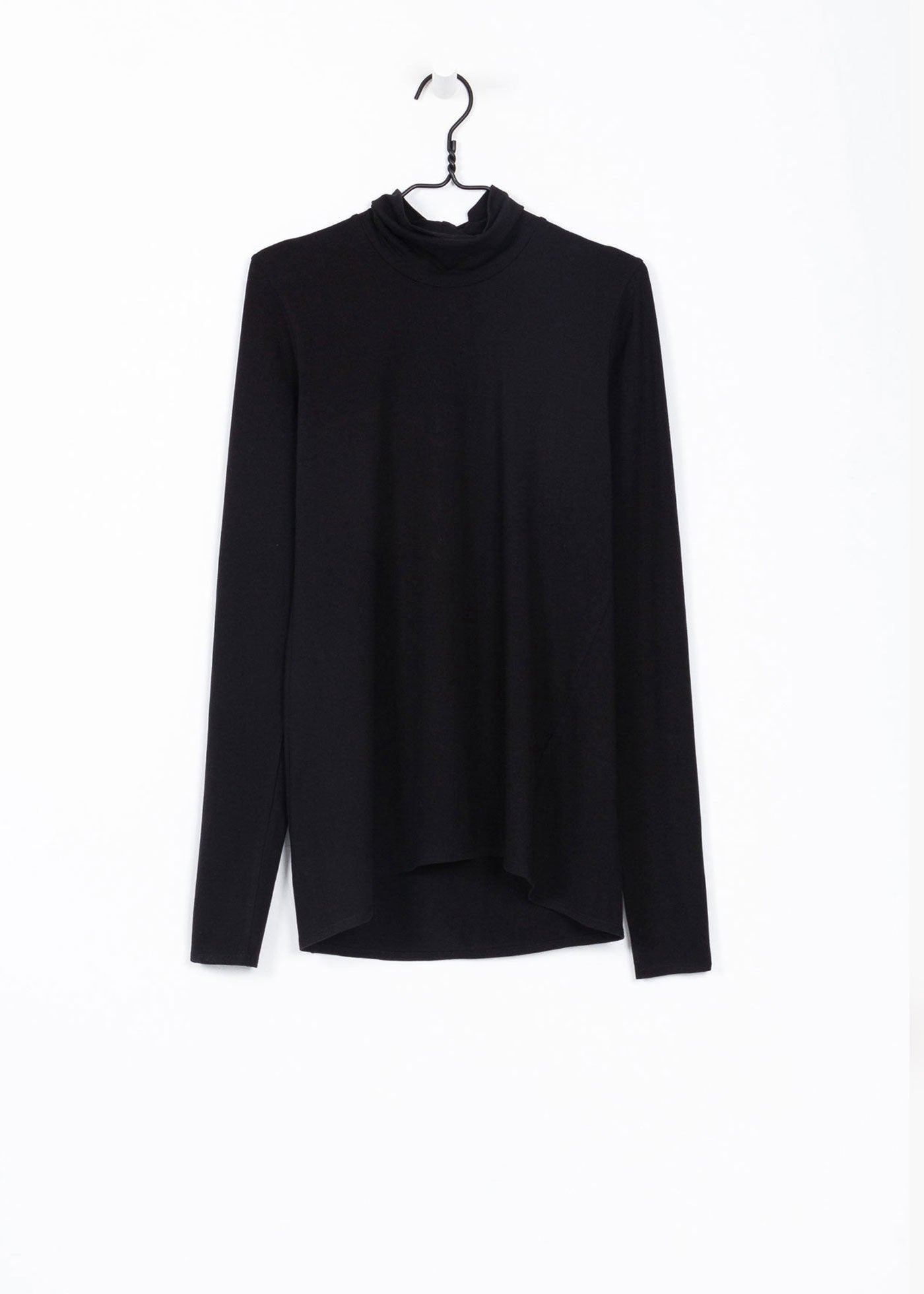 Kowtow Black Turtle Neck Top — New Classics Studios
