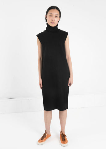 Building Block Rib Roll Neck Dress