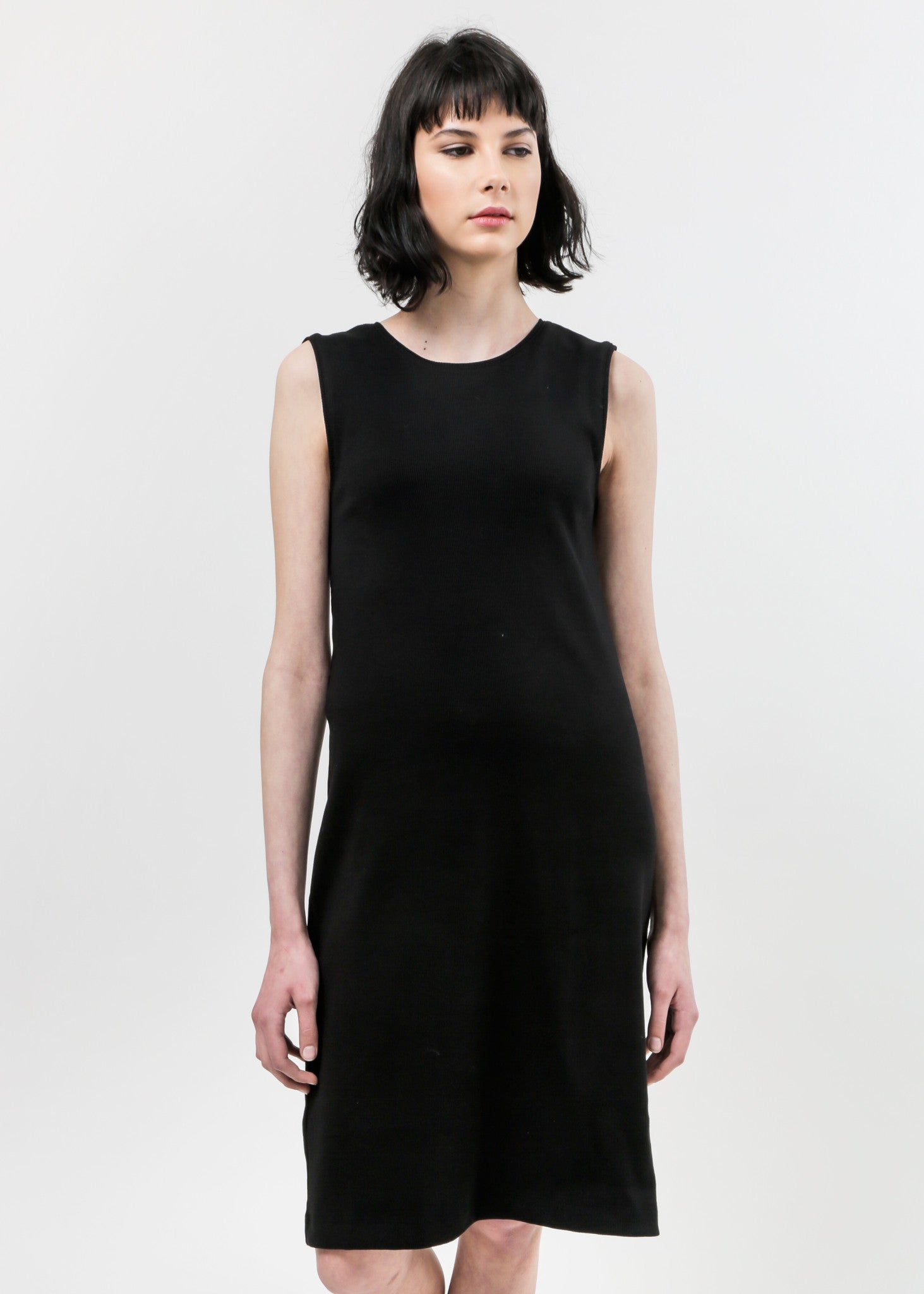 Kowtow Building Block Rib Tank Dress — Shop sustainable fashion and slow fashion at New Classics Studios