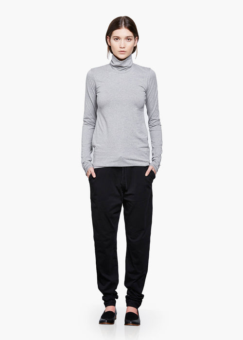 Kowtow Grey Marle Turtle Neck Top - New Classics Studios  - 2