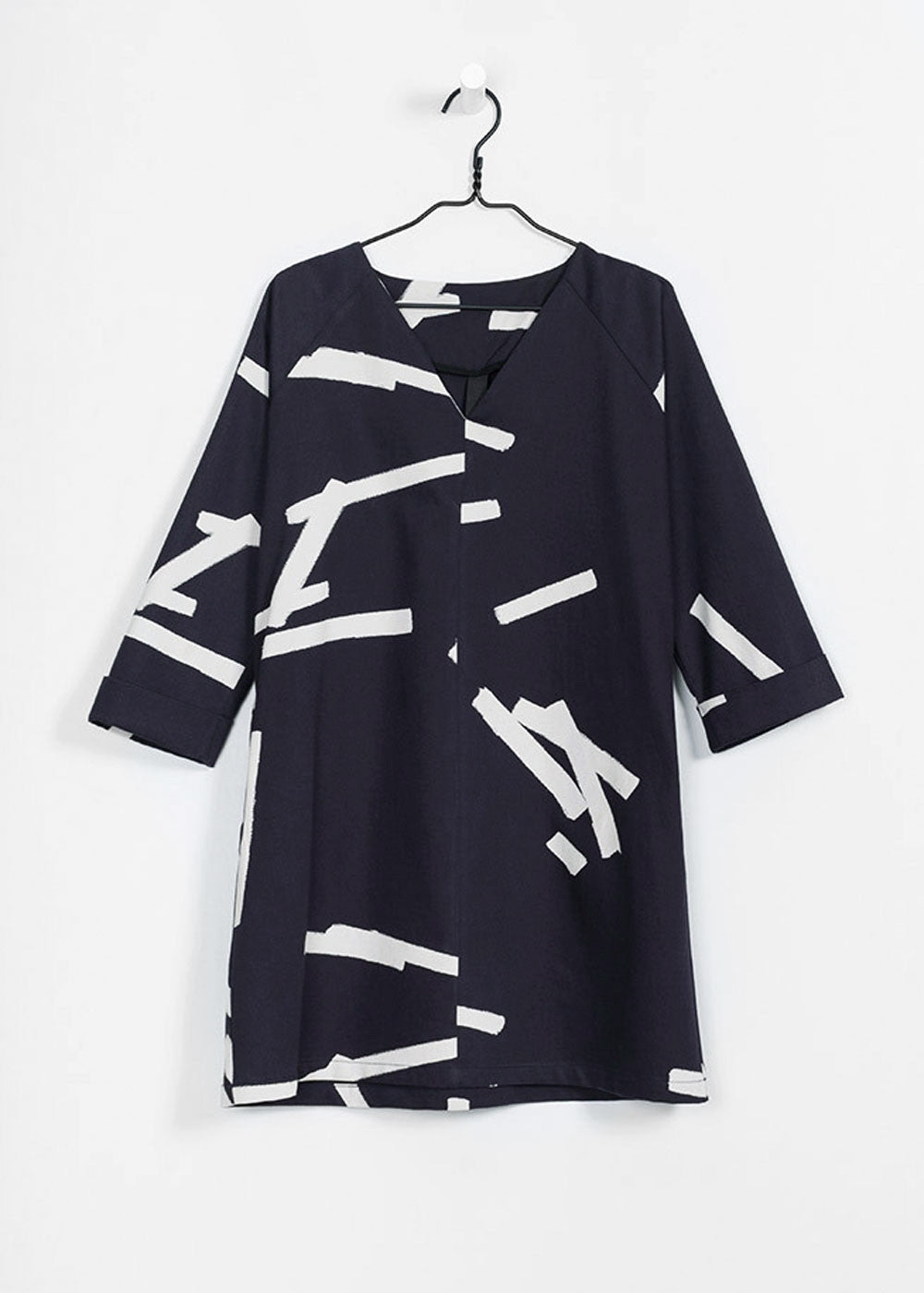 Paper Pieces on Navy Introduction Dress by KOWTOW - New Classics ...
