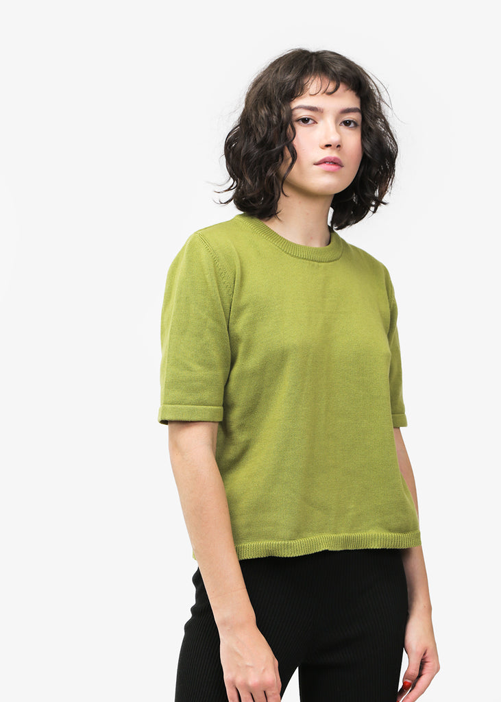 Kowtow Knitted Tee — Shop sustainable fashion and slow fashion at New Classics Studios
