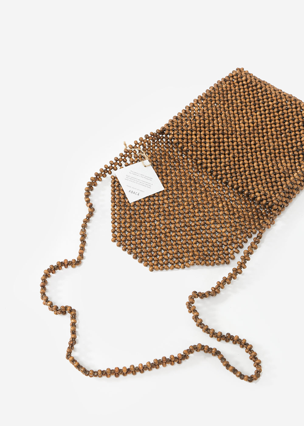 Abacá Ligaw Wood Sling Purse — New Classics Studios