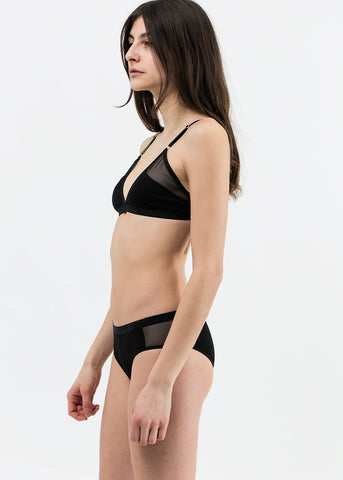 Triangle Rib Bra