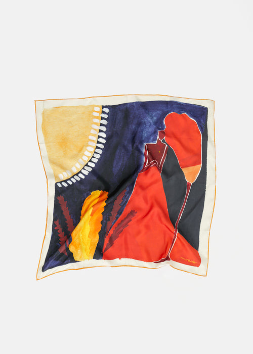 Holding Ground Silk Scarf