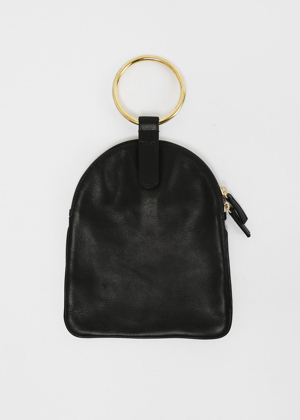 Large Ring Pouch in Black