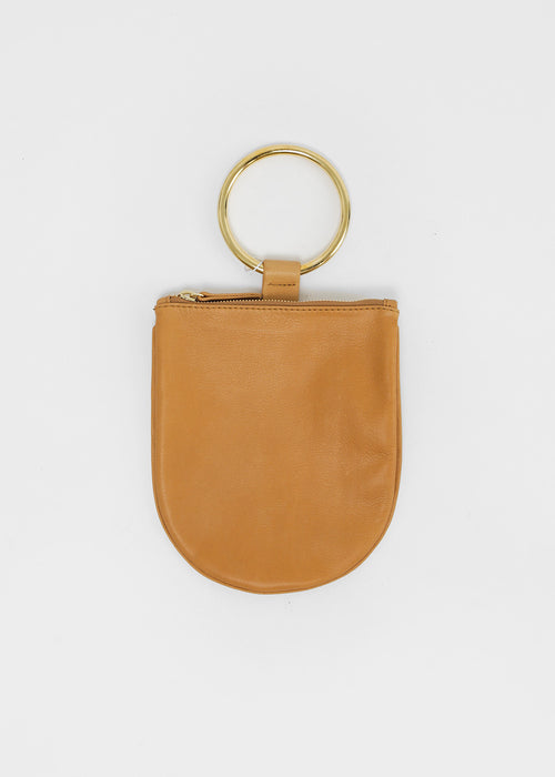 Otaat/Myers Collective Medium Ring Pouch in Camel — New Classics Studios