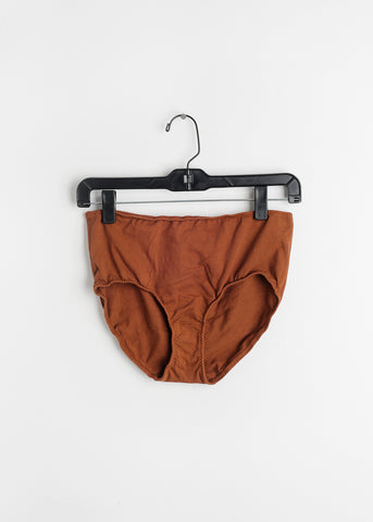 Rust High Rise Underwear