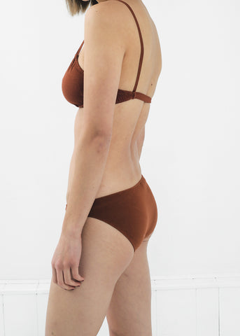 Rust Low Rise Underwear