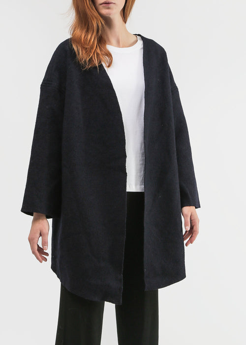 Priory Navy Ura Coat — New Classics Studios