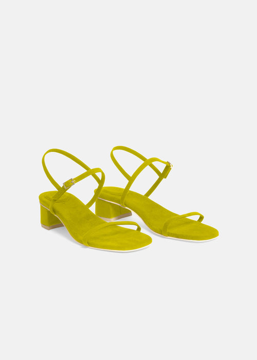 Milli Sandal in Citrine