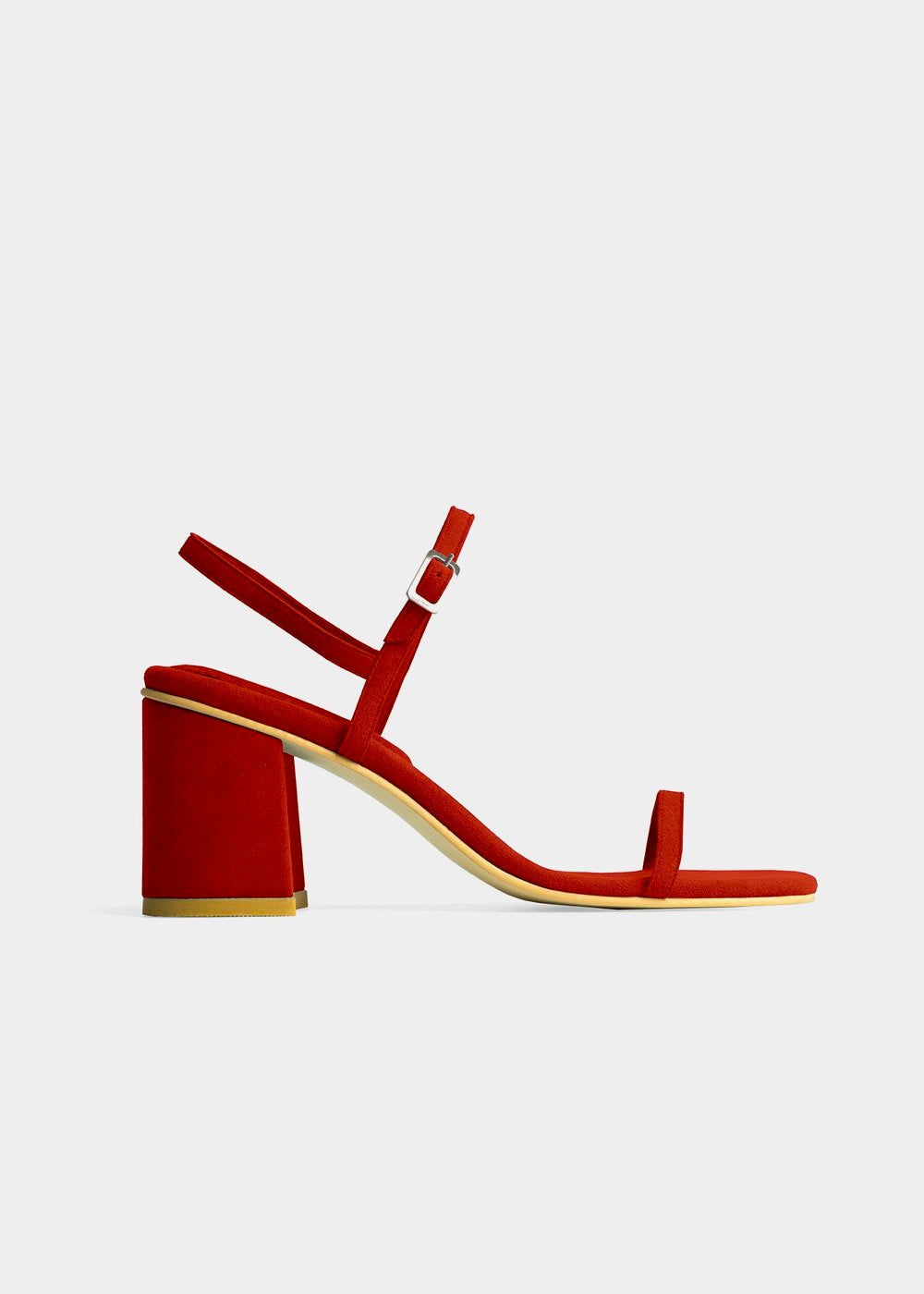 RAFA Simple Sandal in Ruby — Shop sustainable fashion and slow fashion at New Classics Studios