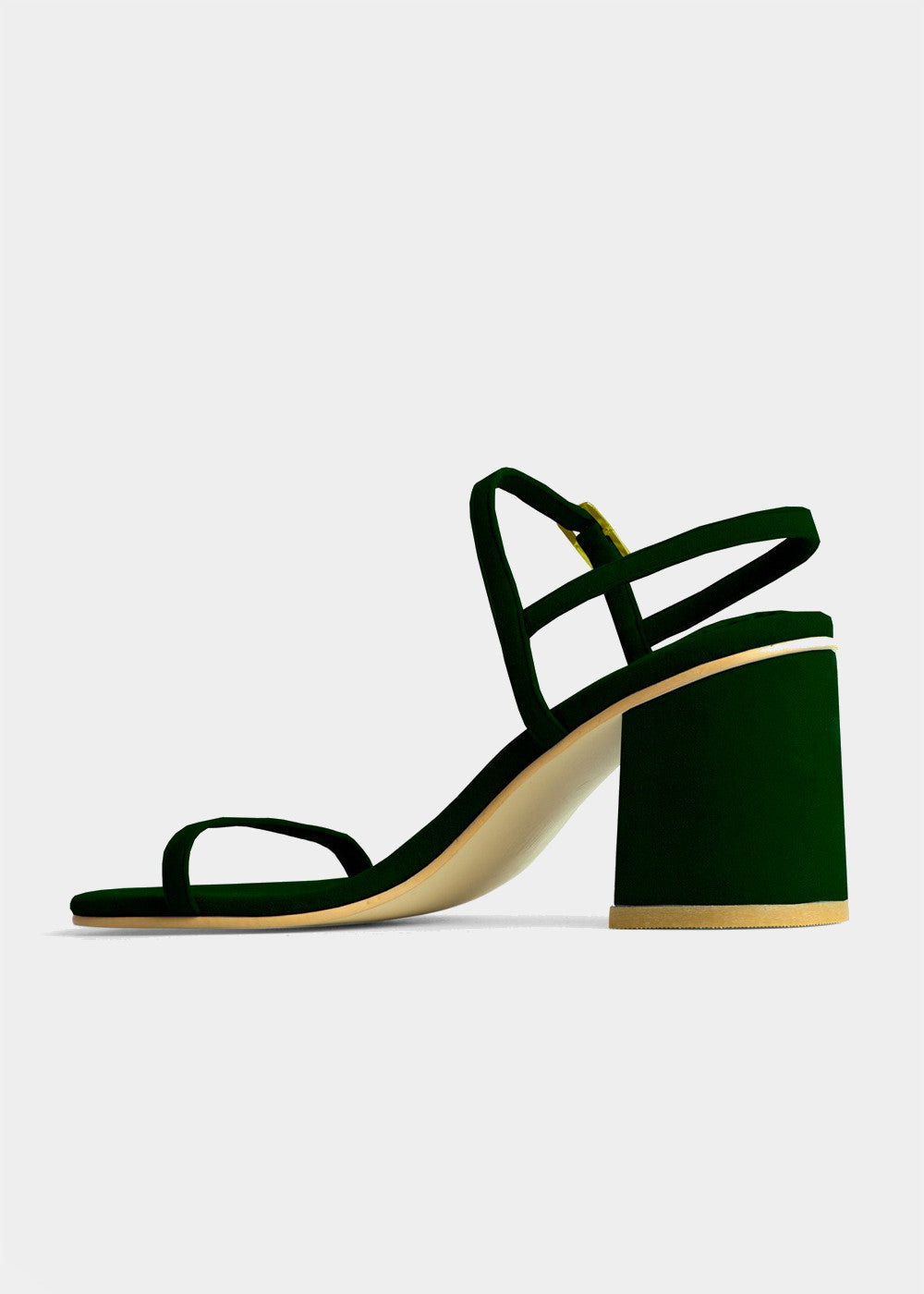 RAFA Simple Sandal in Chlor — Shop sustainable fashion and slow fashion at New Classics Studios