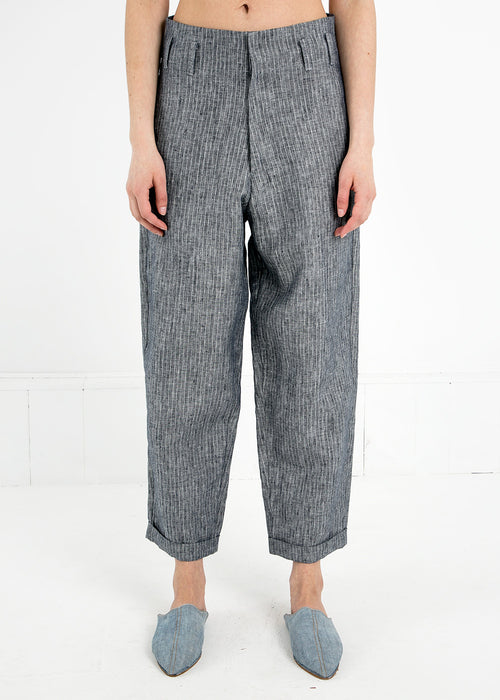 Study-NY Grey Stripe Hollywood Pant — New Classics Studios