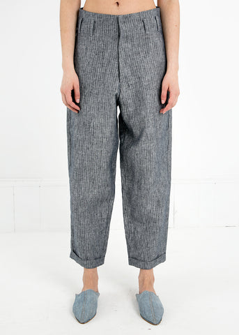 Grey Stripe Hollywood Pant