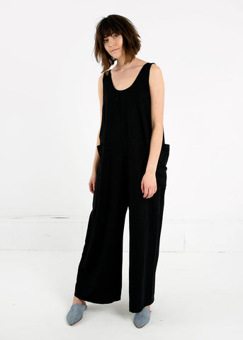 Black Oversized Tank Suit