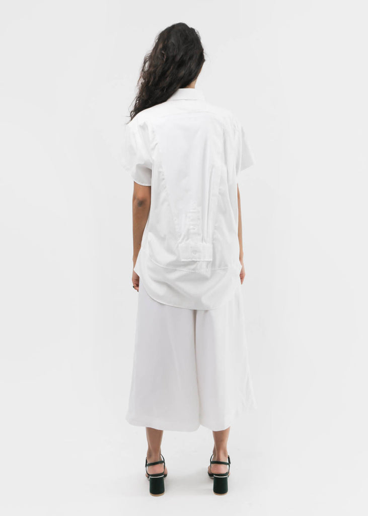 Study-NY White Sam Shirt — Shop sustainable fashion and slow fashion at New Classics Studios