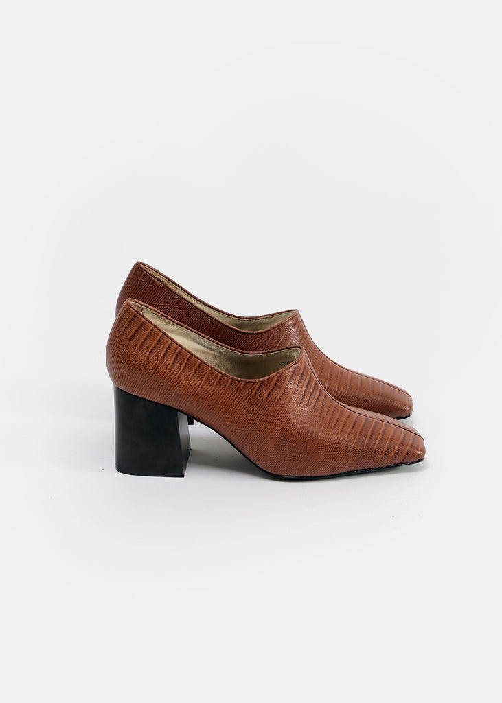 Suzanne Rae Faux Lizard Pump — Shop sustainable fashion and slow fashion at New Classics Studios