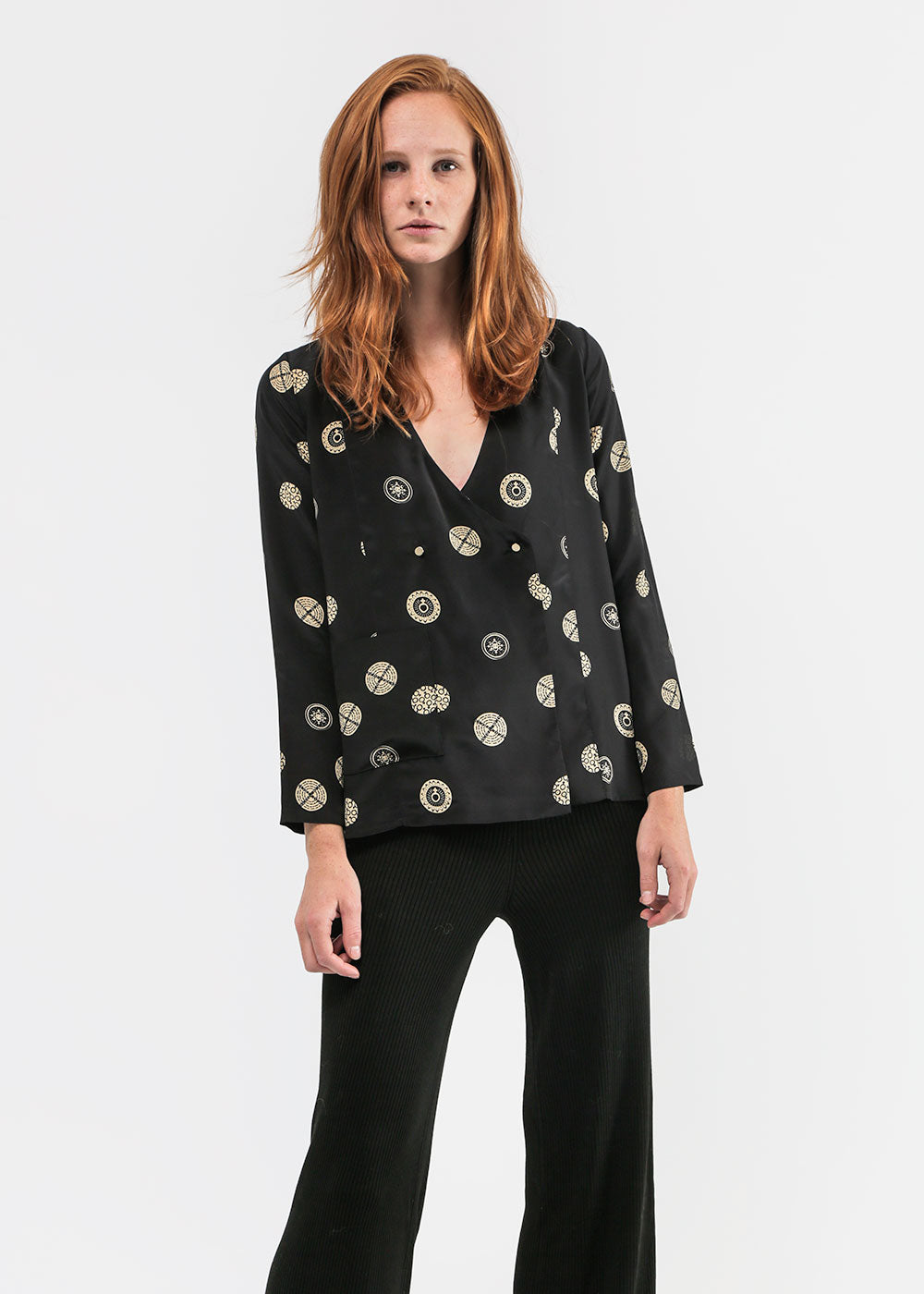 Suzanne Rae Button Up Blazer — New Classics Studios