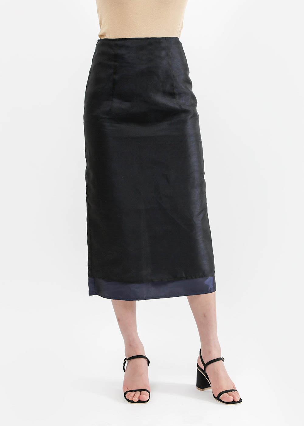 Suzanne Rae Double Layer A-Line Skirt — Shop sustainable fashion and slow fashion at New Classics Studios