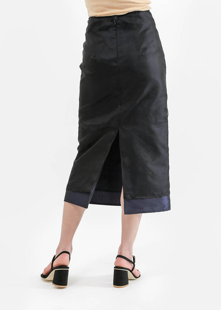 Suzanne Rae Double Layer A-Line Skirt — New Classics Studios