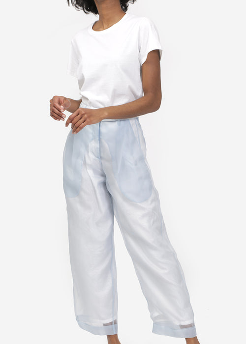 Suzanne Rae High-waisted Cuffed Trouser — New Classics Studios