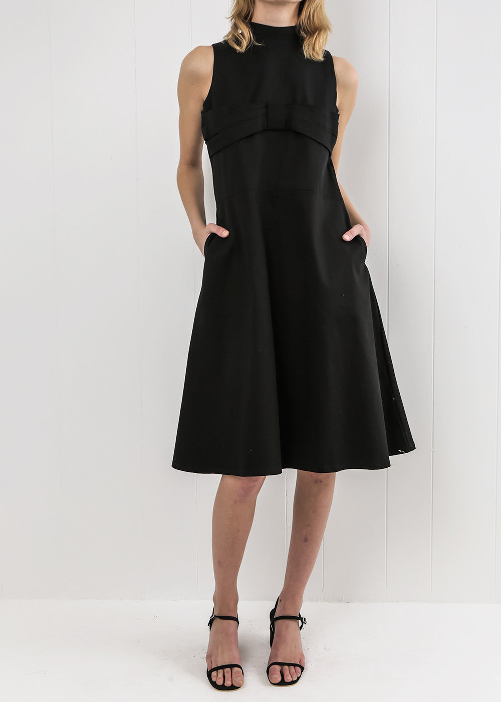 Toit Volant Black Lola II Dress — Shop sustainable fashion and slow fashion at New Classics Studios
